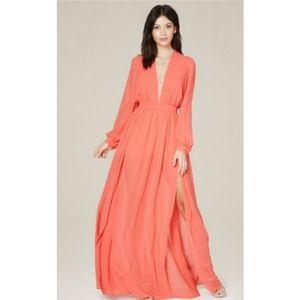 Bebe  Deep-v Shorts gown
